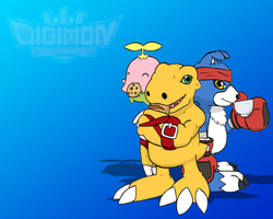 Digimon Data Squad Wallpaper by GrineX