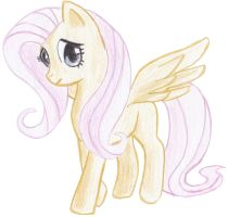Fluttershy by Fatfighterfriedi