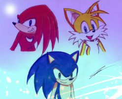 Drawing for StefanTheHedgehog by GothicYola