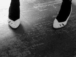 White shoes by Dinahleit