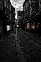 An Old York City Street by wildbunchz