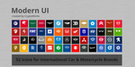 Modern UI 52 Icons for Car and Motorcycle Brands by CryptoWorks