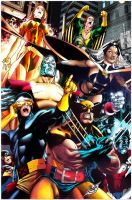 X- Men by Paulo Siqueira 2012 by NormanWong