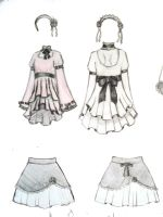 Lolita-ish Outfit Design by darkwings16
