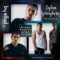 Pack png 739: Dylan Sprayberry by BraveHearts-PNGS