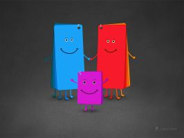 The Family of Colors by vladstudio