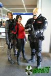 Leon, Ada (Resident Evil 6) and Nemesis Cosplay by yandrak775