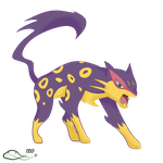 Liepard by The-Emerald-Otter