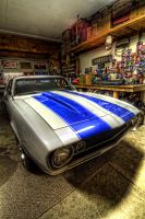 Camaro in the Garage by Doogle510