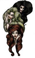 The Brides of Dracula by LaTaupinette