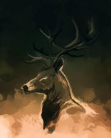 SpeedP Deer by Elsouille