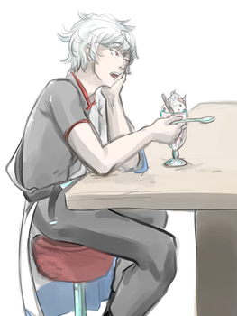 Gin-san by mhloor