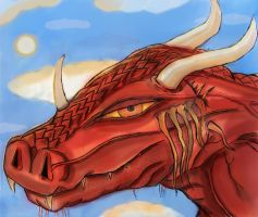 3 red dragon by BndDigis