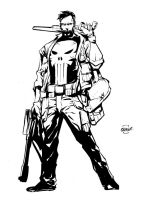 Punisher by johnnymorbius