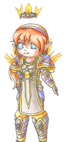 Chibi WoW High Elf by Zephyr-Aryn