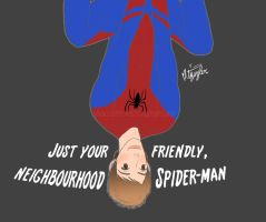 Just your friendly, neighbourhood Spider-Man by Burnt-X3