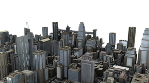 City Blocks PNG by neverFading-stock