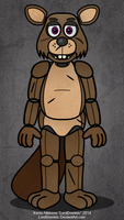 FNAF-Style Beaver Animatronic Adopt Closed by LordDominic