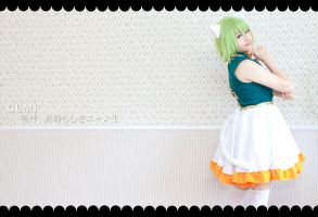 GUMI - Ah! It's a wonderful cat life by KazuoFubuki