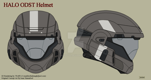 Halo ODST Helmet by Wolff60
