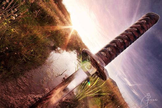 sword of the warrior by Ricky-Arcane