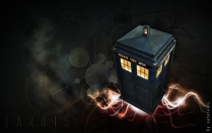 TARDIS by natatomic