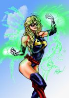 Ms Marvel colors by brimstoneman34