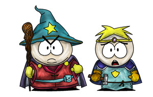 Southpark:SOT butters and cartman by longlivehomm2