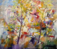 Abstract landscape 2010 by zampedroni