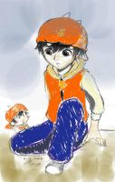 Boboiboy and... The little guy? by iela1991