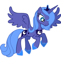 Luna Vector by VaneFox