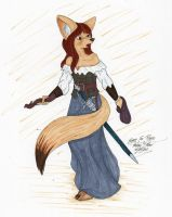 Fennec Fox Rogue by LordFenrir
