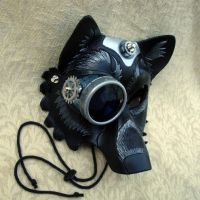 Industrial Wolf Mask V1 by merimask