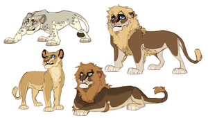 Redesigns for Asante-Sana by Mikaces