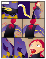 Batgirl Growth Comic Pg3 Fan Colored by GrandMasterLucilious