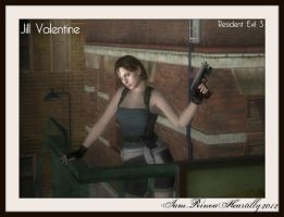 RE3 Jill Valentine by IamRinoaHeartilly