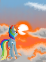 Sunset by The1Xeno1