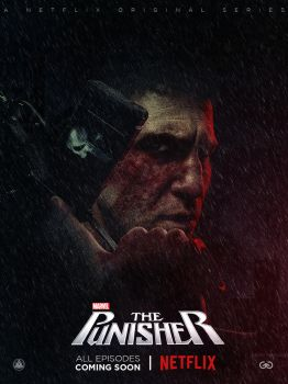 The Punisher Netflix Series Poster (larger) by ZaetaTheAstronaut