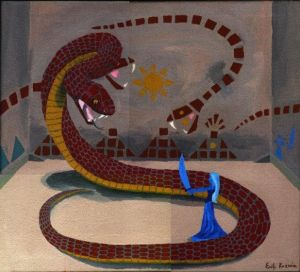 The Serpent God Myth