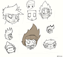 Concept Faces. by Ashcorp23