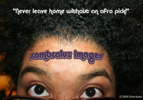Afro Pick: ACTIVATE by Sombraluz-Images