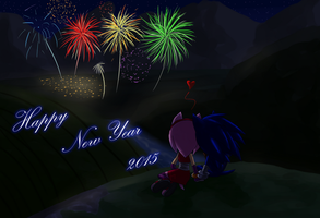 Happy New Year 2015 Sonamy Boom by amyrose7