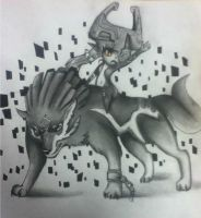 Wolf Link Twilight Princess by northernlightsky