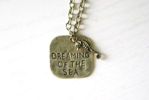 Dreaming of the Sea Necklace by MonsterBrandCrafts