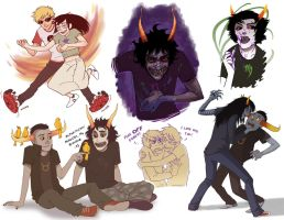 Homestuck Dump 2 by conniiption