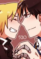 RoyEd: Happy 520 by c0ralus