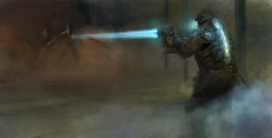 dead space speedpaint by EthicallyChallenged