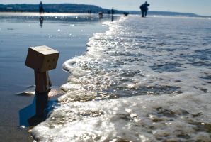 Sea at Deauville by calonyr11