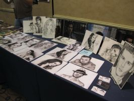 My table at Eyecon by jeanetkristensen