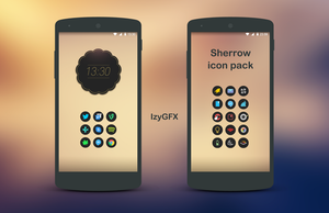 Sherrow Icon Pack - android icons by izyman